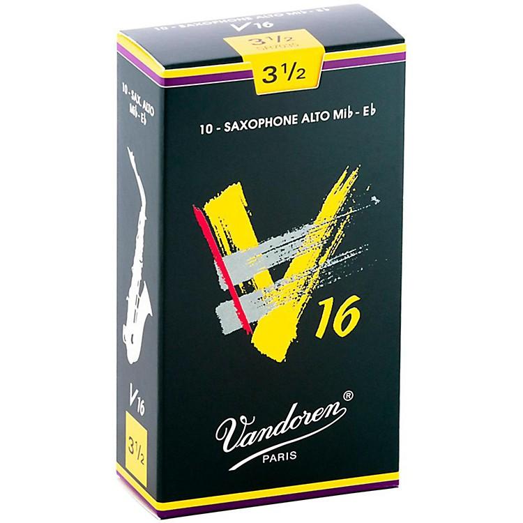 VandorenAlto Sax V16 ReedsStrength 3.5Box of 10