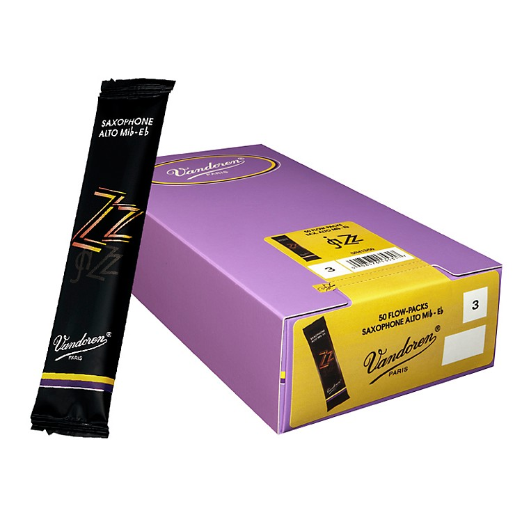 Vandoren Alto Sax ZZ Reed Box of 50