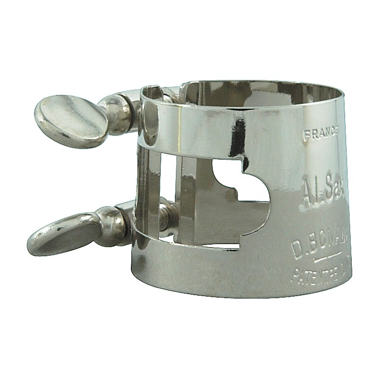 Bonade Alto Saxophone Ligature Alto Sax - Nickel - Inverted