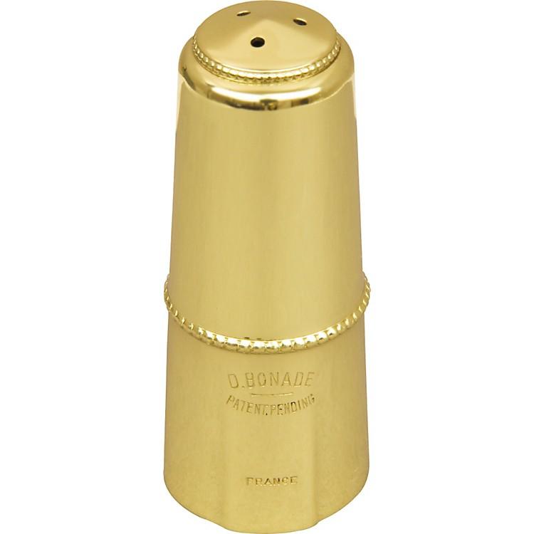 BonadeAlto Saxophone Mouthpiece CapGold Lacquer Cap - Inverted