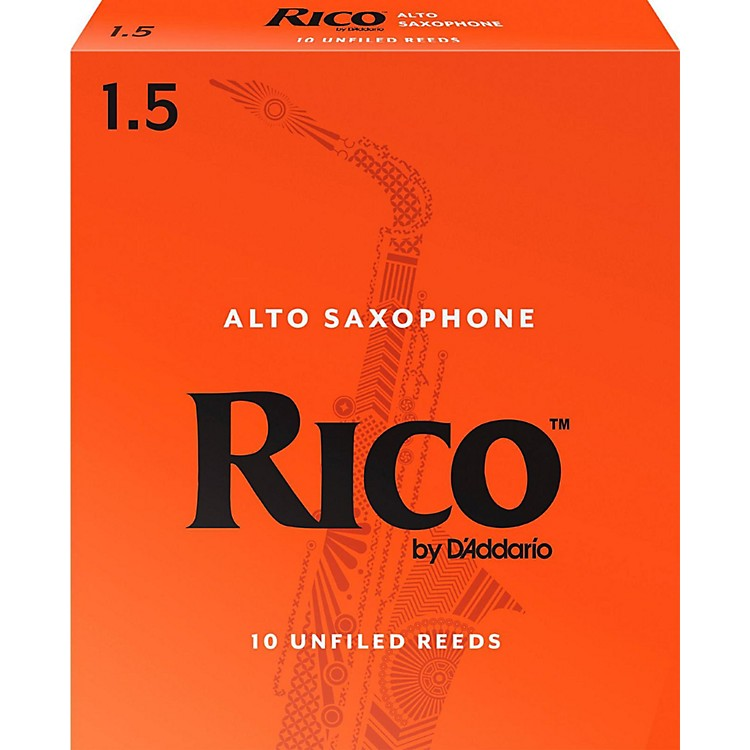 RicoAlto Saxophone Reeds, Box of 10Strength 1.5