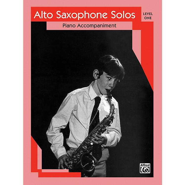 AlfredAlto Saxophone Solos Level I Piano Acc.