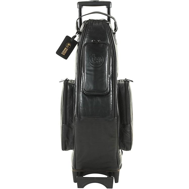 GardAlto Saxophone Wheelie Bag104-WBFLK BlackUltra Leather