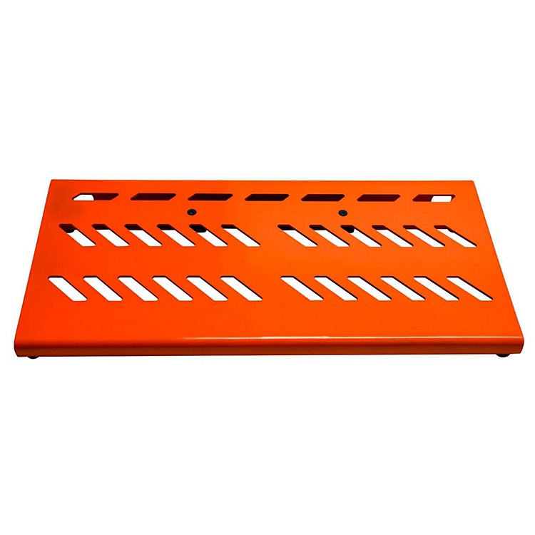 Gator Aluminum Pedal Board - Large with Bag Orange