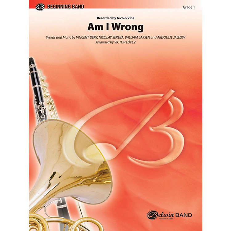 Alfred Am I Wrong Concert Band Grade 1