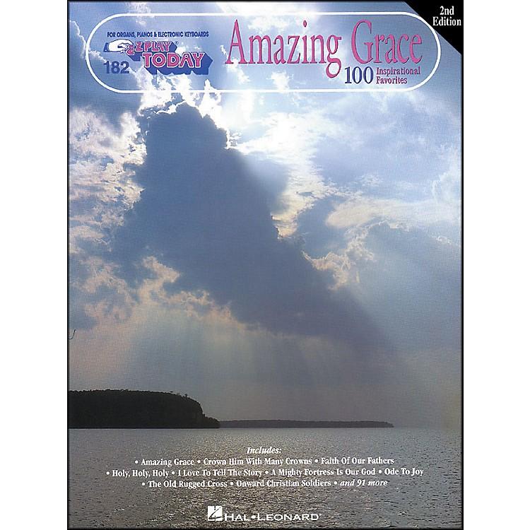 Hal LeonardAmazing Grace 2nd Edition E-Z Play 182