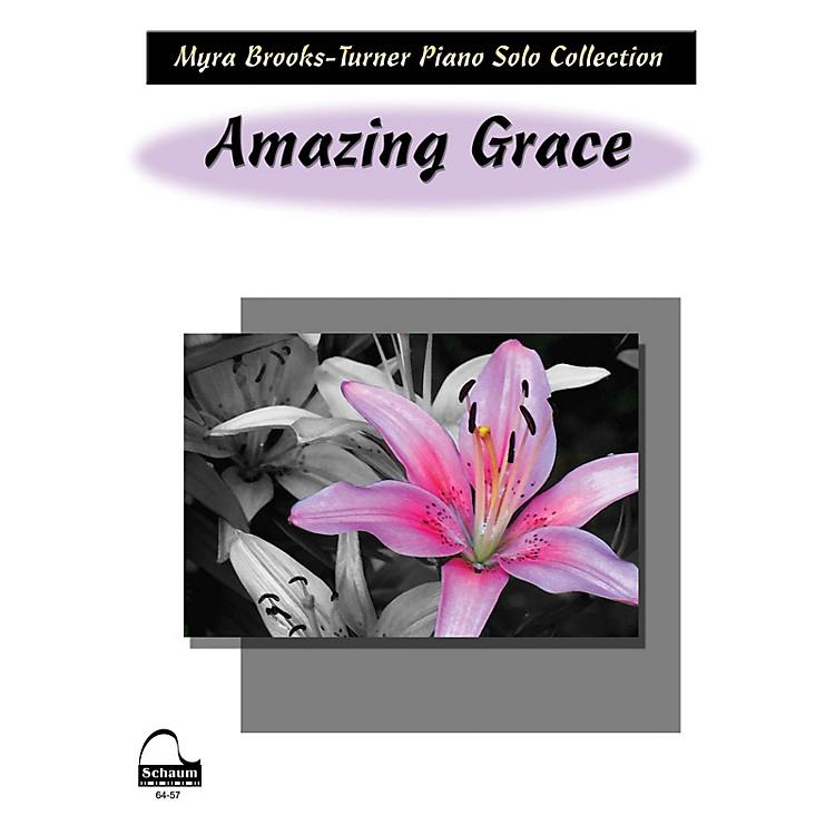SCHAUMAmazing Grace Educational Piano Series Softcover