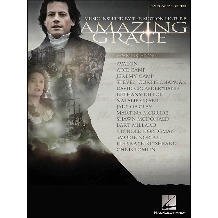 Hal LeonardAmazing Grace Music Inspired By The Motion Picture arranged for piano, vocal, and guitar (P/V/G)