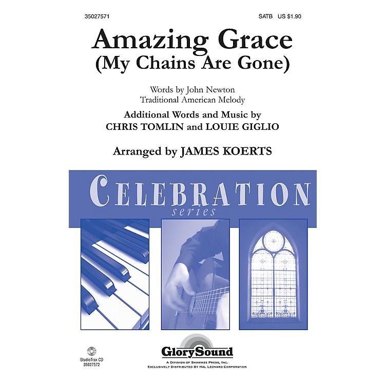 Shawnee PressAmazing Grace (My Chains Are Gone) Studiotrax CD Arranged by James Koerts