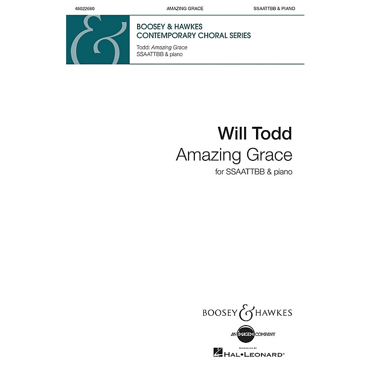 Boosey and HawkesAmazing Grace SSAATTBB arranged by Will Todd
