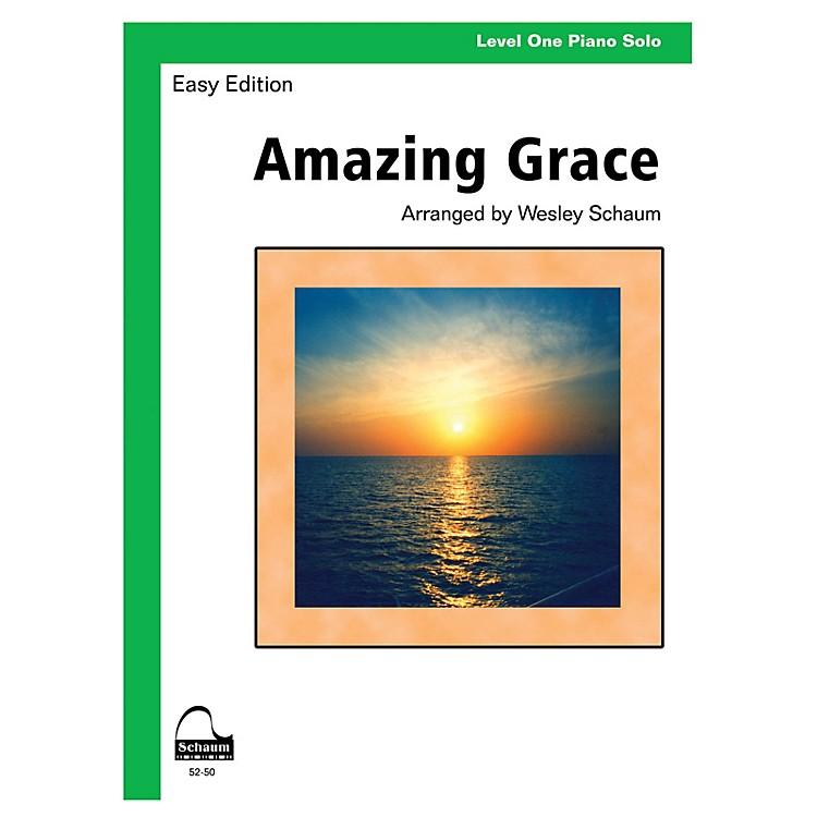 SCHAUMAmazing Grace (Schaum Level One Piano Solo) Educational Piano Book