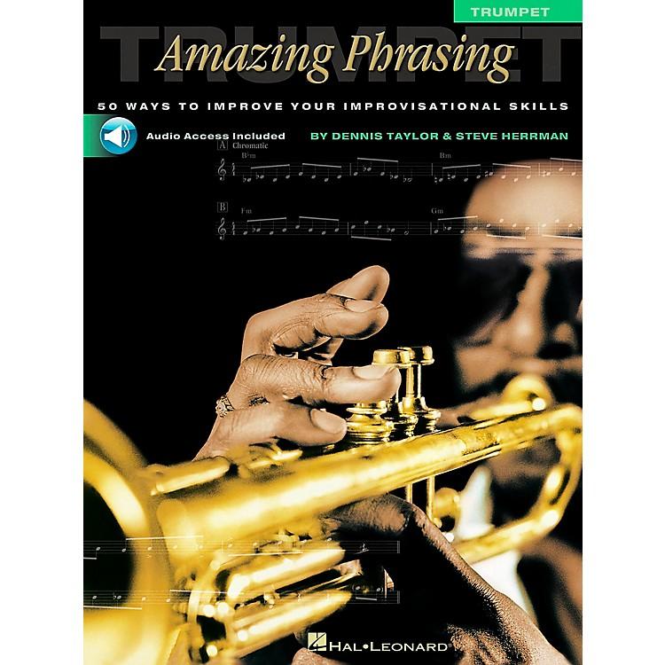 Hal LeonardAmazing Phrasing - Trumpet (Book/Online Audio)