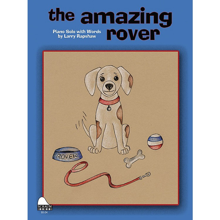 SCHAUMAmazing Rover Educational Piano Series Softcover
