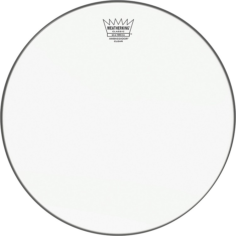 Remo Ambassador Clear Classic Fit Drum Head 18 in.