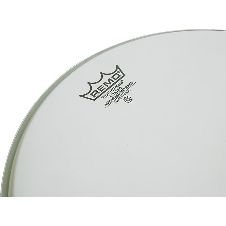 RemoAmbassador Coated Bass Drum Heads24 in.