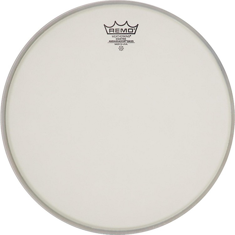 Remo Ambassador Coated Bass Drum Heads 22 in.