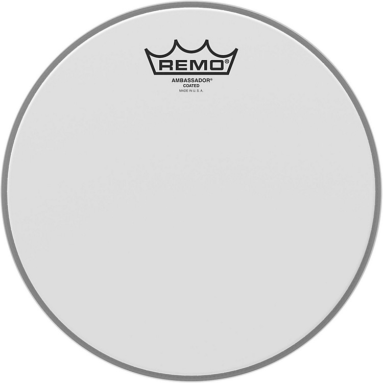 Remo Ambassador Coated Head  10 in.