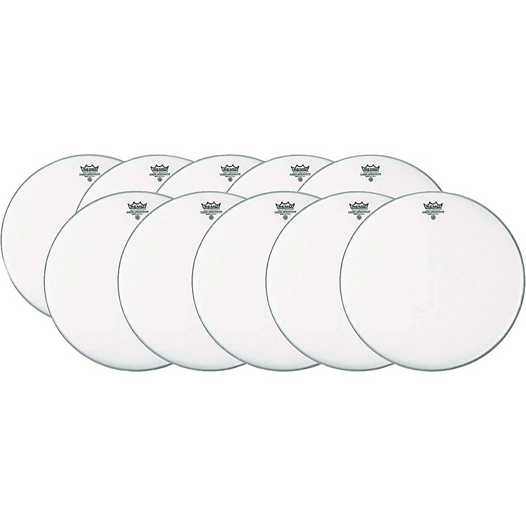 RemoAmbassador Coated Snare Head 14 Inch 10-Pack