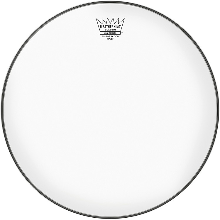 Remo Ambassador Hazy Classic Fit Snare Side Drum Head 13 in.