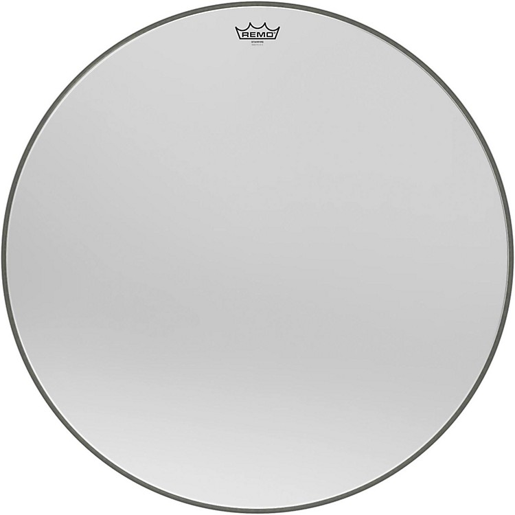 Remo Ambassador Starfire Chrome Bass Drumhead 22 in.