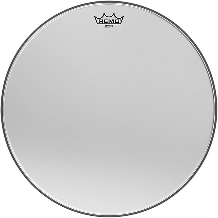 Remo Ambassador Starfire Chrome Tom Head 18 in.