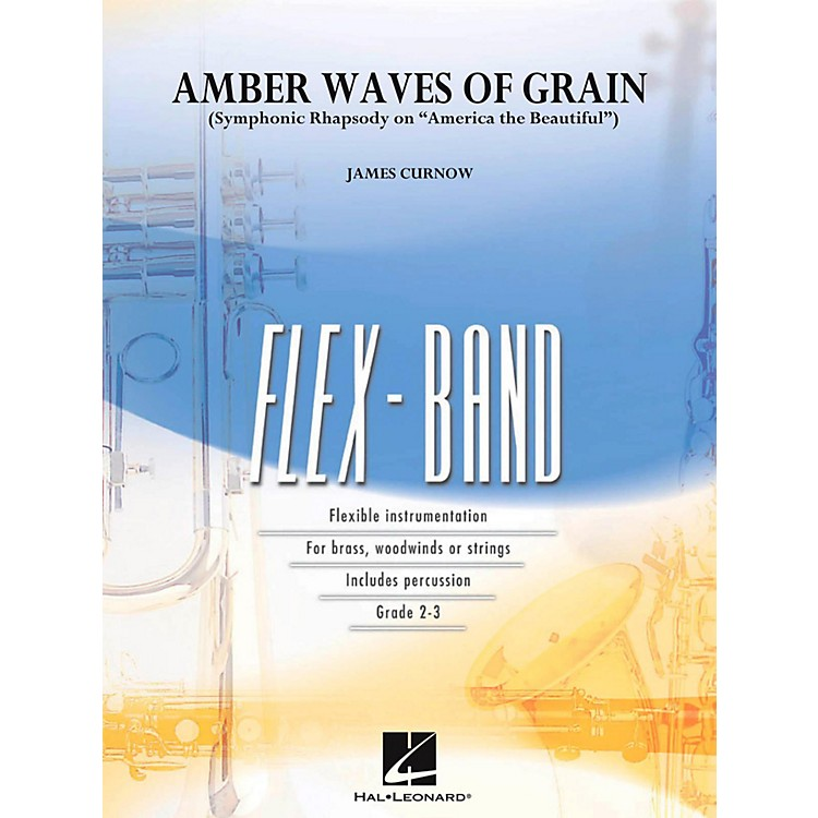 Hal Leonard Amber Waves Of Grain Concert Band Flex-Band Series