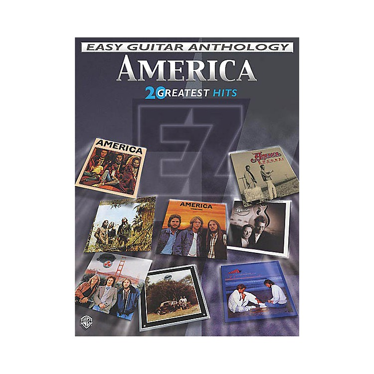 AlfredAmerica - Easy Guitar Anthology (20 Greatest Hits) Easy Guitar Series Softcover Performed by America