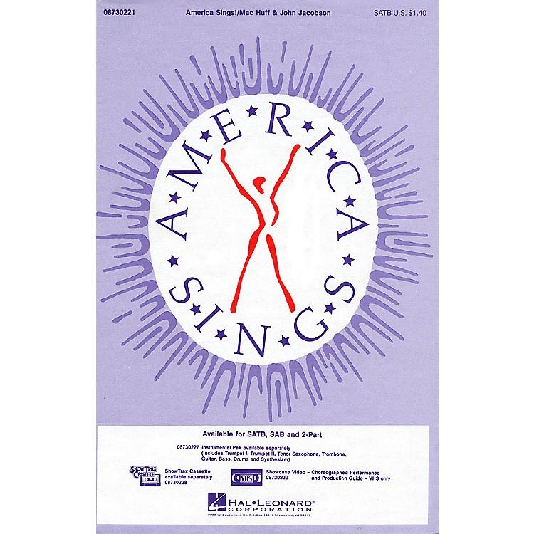 Hal LeonardAmerica Sings! 2-Part Composed by John Jacobson