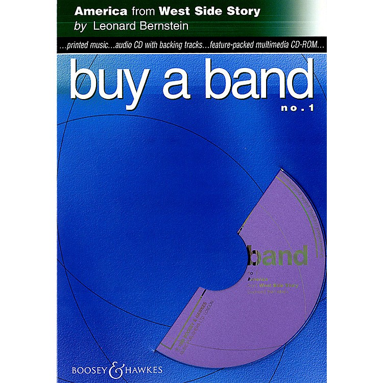 Hal LeonardAmerica (from West Side Story) (Buy a Band No. 1) Instrumental Series CD-ROM