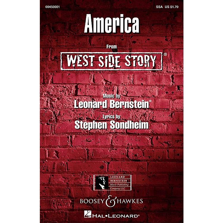 Leonard Bernstein MusicAmerica (from West Side Story) SSA Arranged by William Stickles