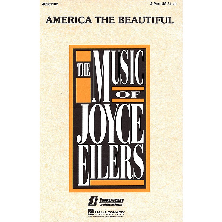 Hal LeonardAmerica the Beautiful (3-Part Mixed) 3-Part Mixed Arranged by Joyce Eilers