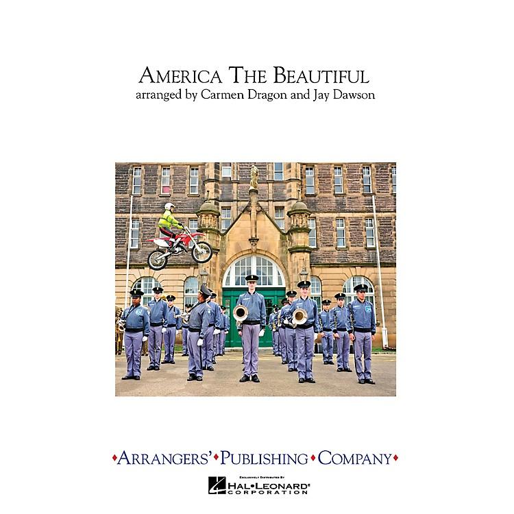 ArrangersAmerica the Beautiful Marching Band Level 3 Arranged by Carmen Dragon