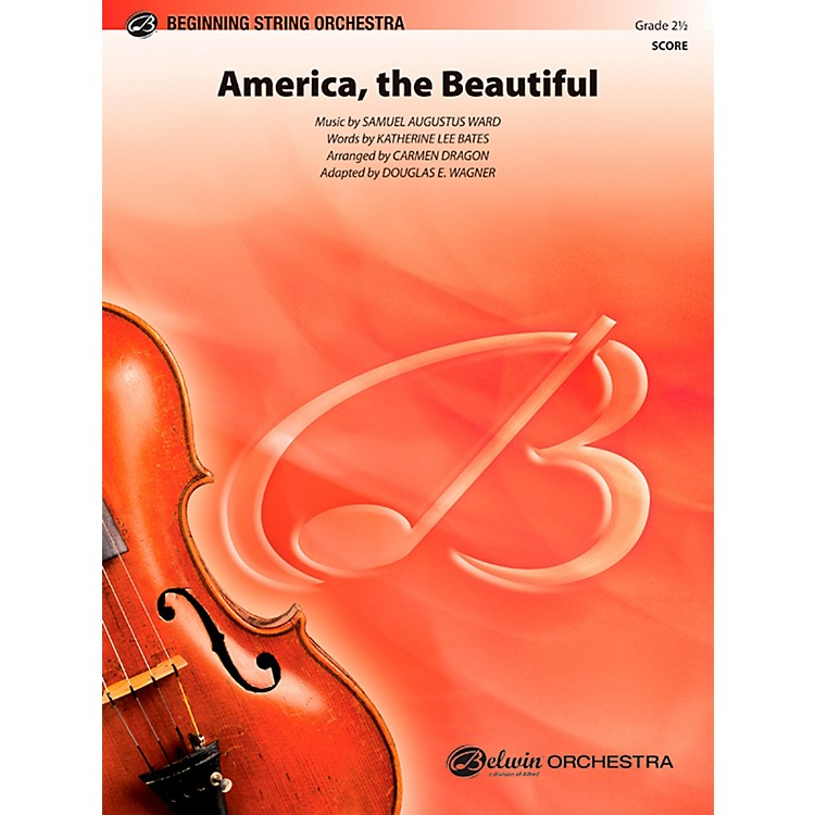 Alfred America, the Beautiful String Orchestra Grade 2.5 Set