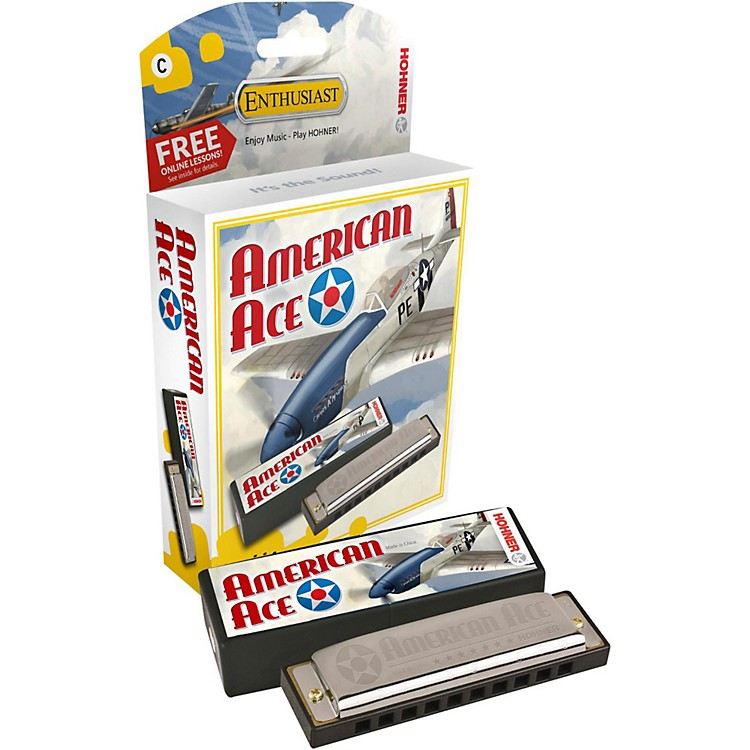 Hohner American Ace Harmonica Key of C