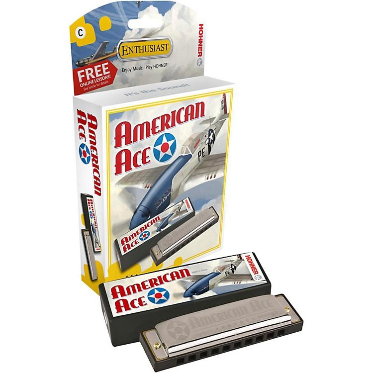 HohnerAmerican Ace HarmonicaKey of C