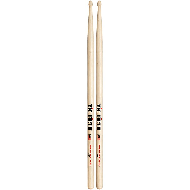 Vic FirthAmerican Classic Hickory DrumsticksWood55A