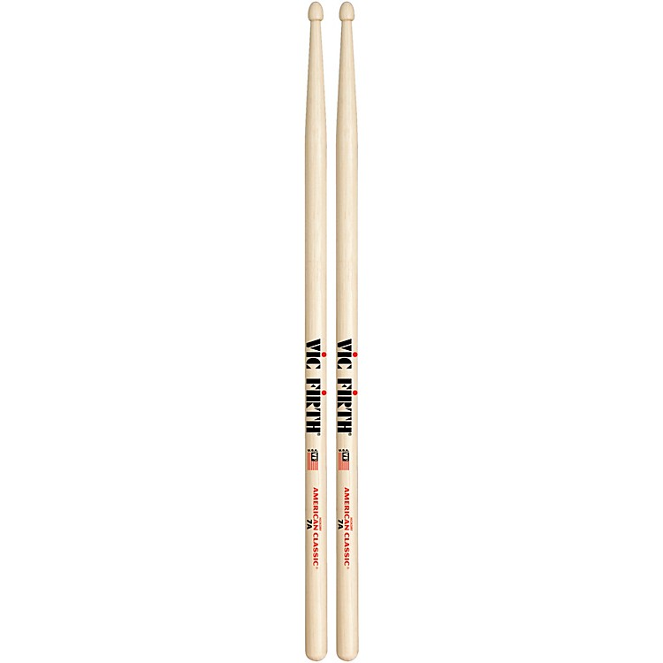 Vic FirthAmerican Classic Hickory DrumsticksWood7A