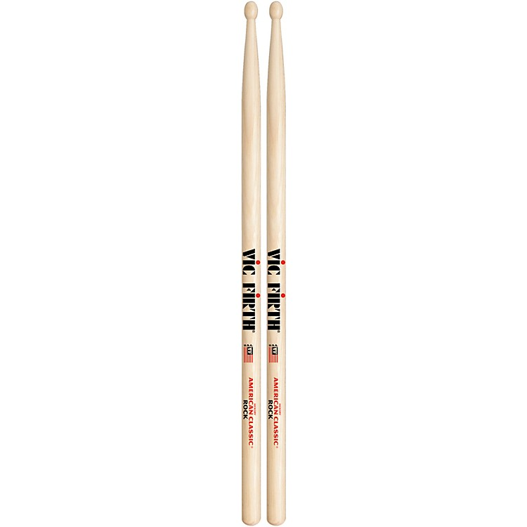 Vic Firth American Classic Hickory Drumsticks Wood Rock