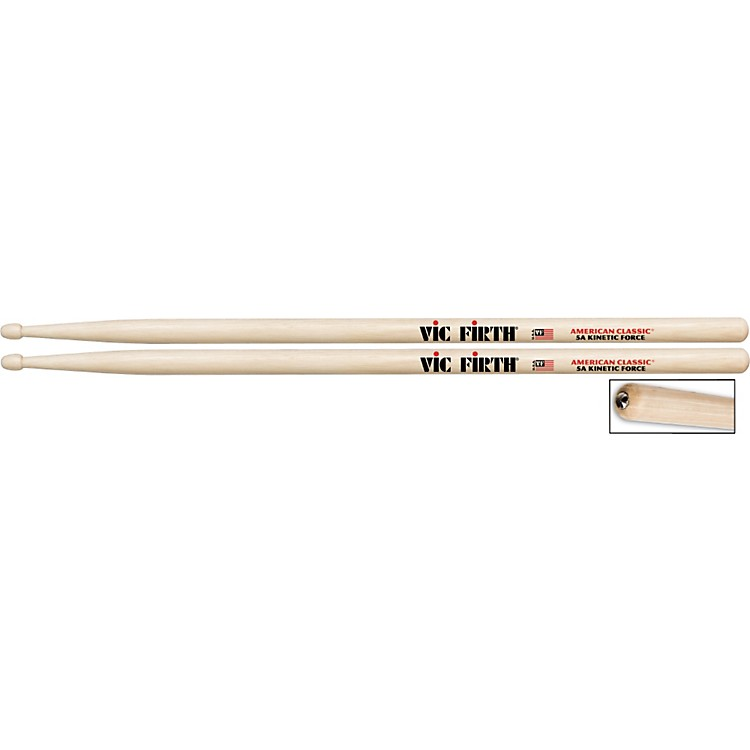 Vic Firth American Classic Kinetic Force Drumsticks 5B Wood