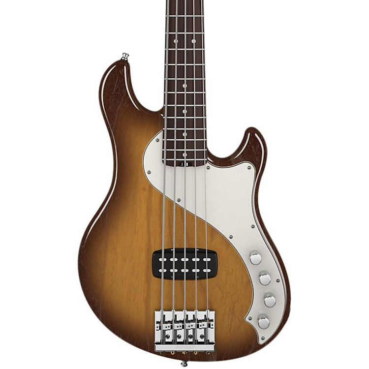 FenderAmerican Deluxe Dimension Bass V 5-String Electric BassViolin BrownRosewood Fingerboard