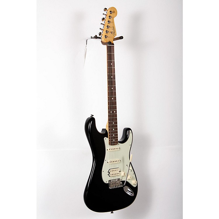 FenderAmerican Deluxe Stratocaster Plus HSS Electric GuitarMystic Black888365854007