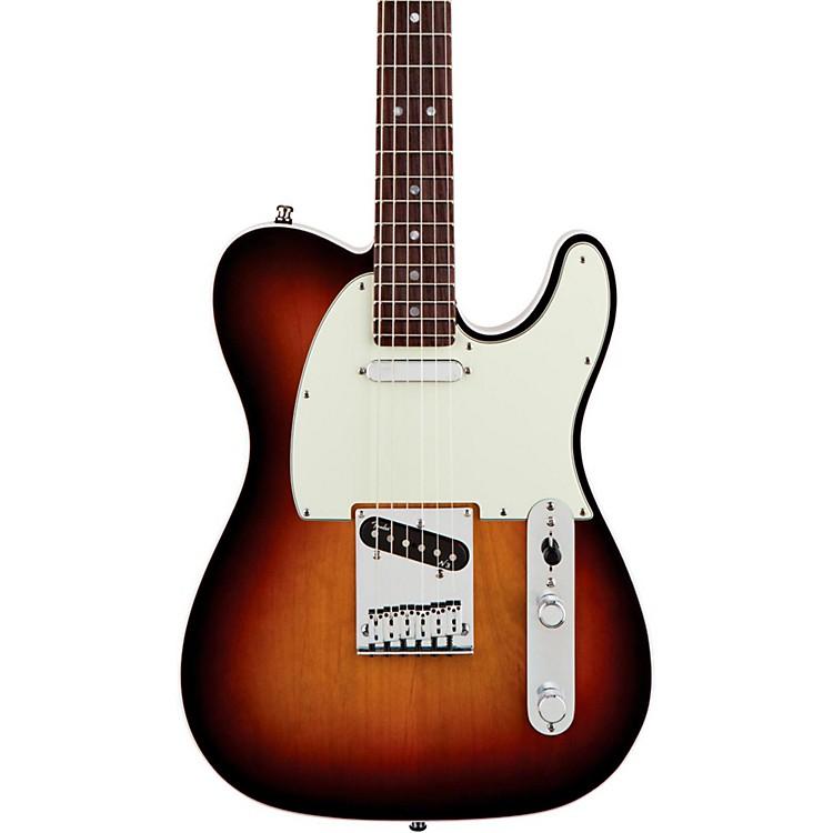 FenderAmerican Deluxe Telecaster Electric Guitar3-Color SunburstRosewood