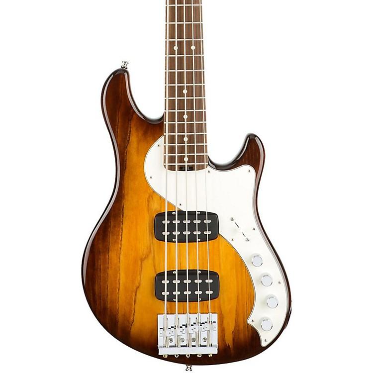 FenderAmerican Elite Dimension Bass V HH, Rosewood, Electric Bass GuitarViolin Burst