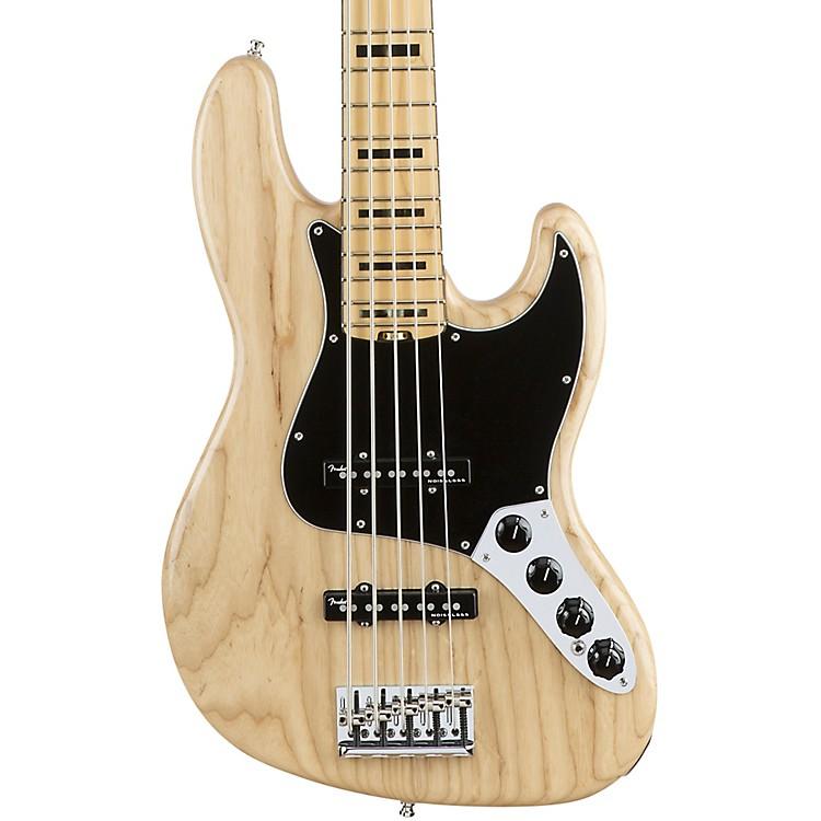 FenderAmerican Elite Jazz Bass V Maple FingerboardBlack