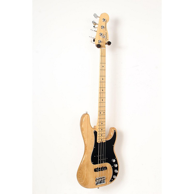 Fender American Elite Maple Fingerboard Precision Bass Natural 888365850566