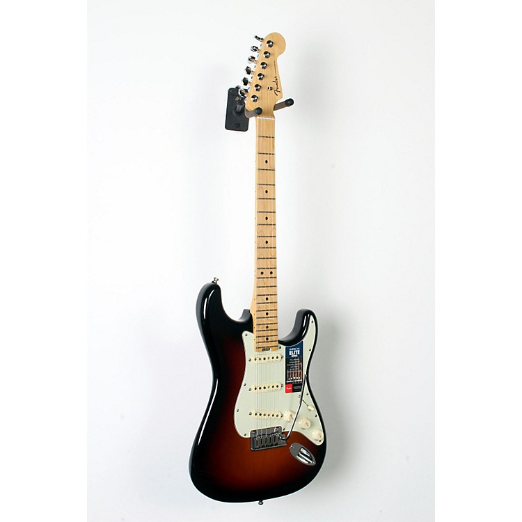 Fender American Elite Maple Stratocaster Electric Guitar 3-Color Sunburst 888365835280