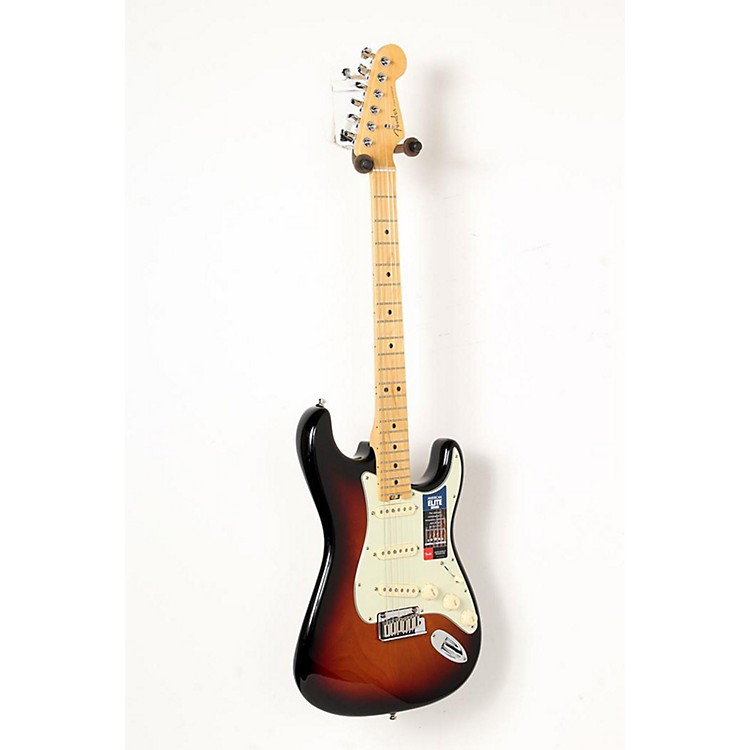 Fender American Elite Maple Stratocaster Electric Guitar 3-Color Sunburst 888365851662