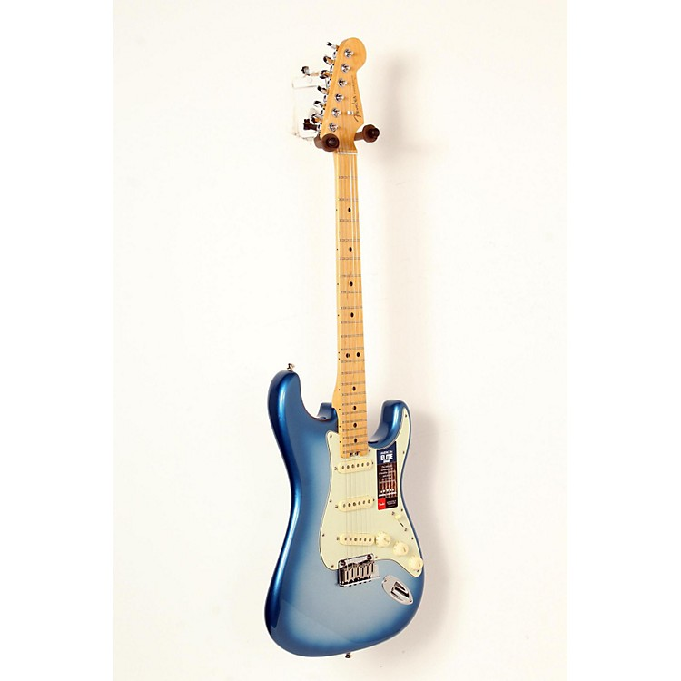 FenderAmerican Elite Maple Stratocaster Electric GuitarSky Burst Metallic888365841946