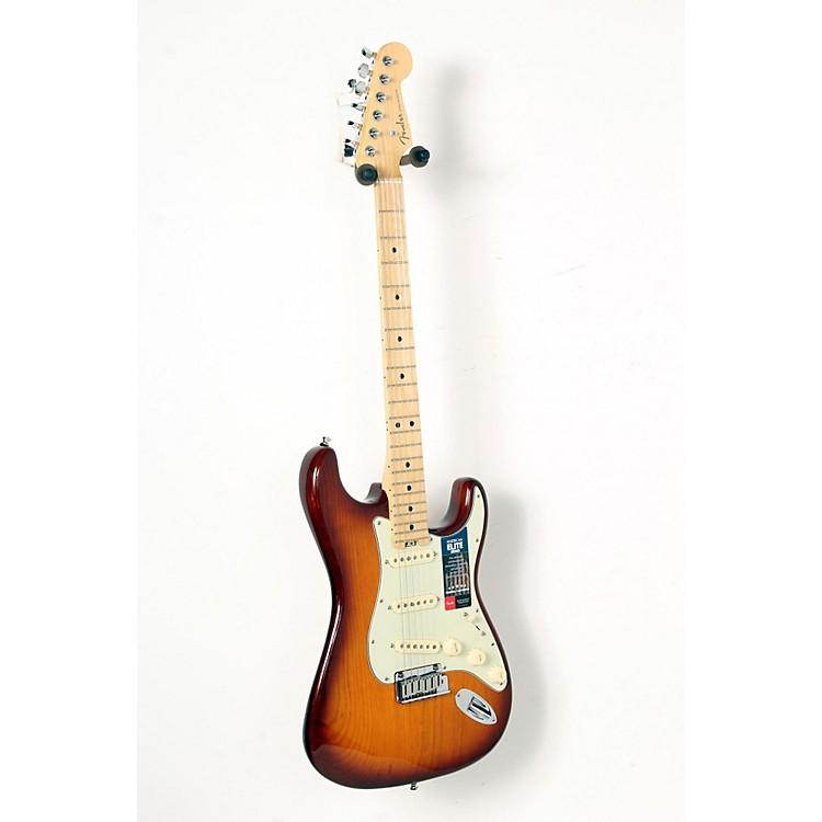 FenderAmerican Elite Maple Stratocaster Electric GuitarTobacco Sunburst888365850986