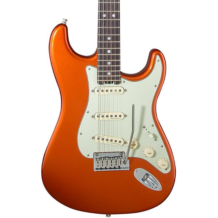 FenderAmerican Elite Rosewood Stratocaster Electric GuitarAutumn Blaze Metallic